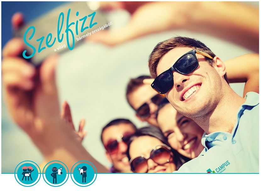 Szelfizz a Campus Hungary-val!