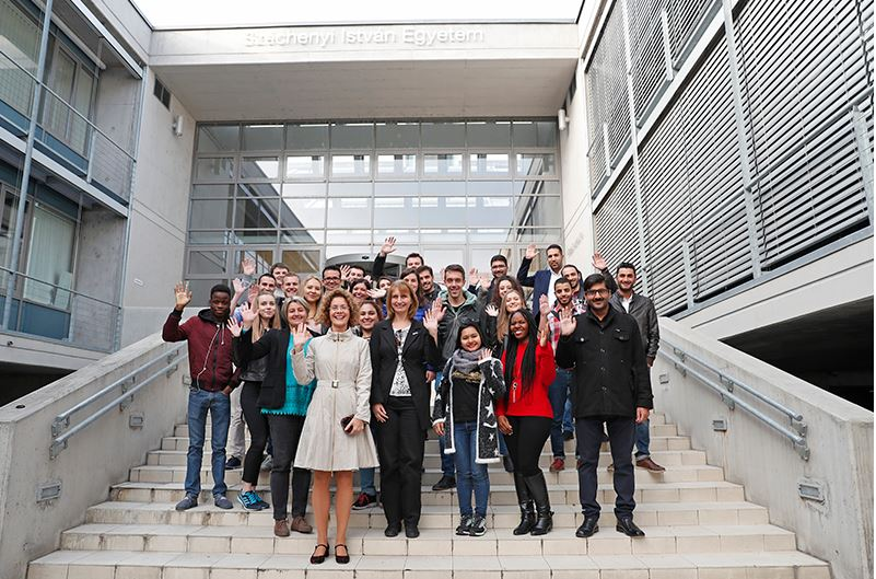 STUDENTS FROM AFRICAN ASIA AND SOUTH AMERICA AT OUR UNIVERSITY