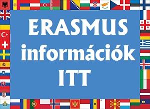 Információk nyertes Erasmus pályázóknak