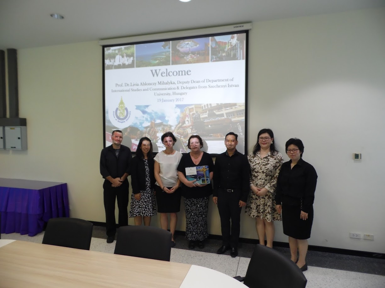 Our colleagues visited Phuket Campus of the Prince of Songkla University in Thailand