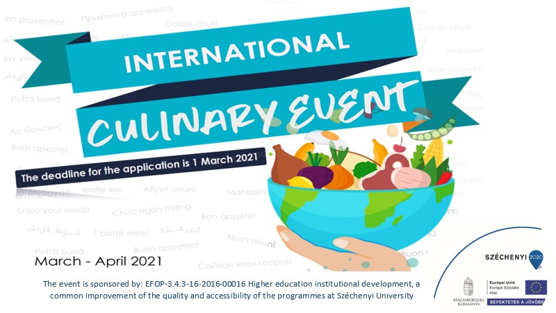 International Culinary Event